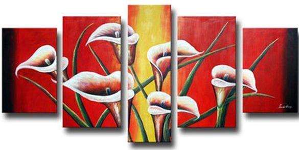 tranh canvas hoa 3