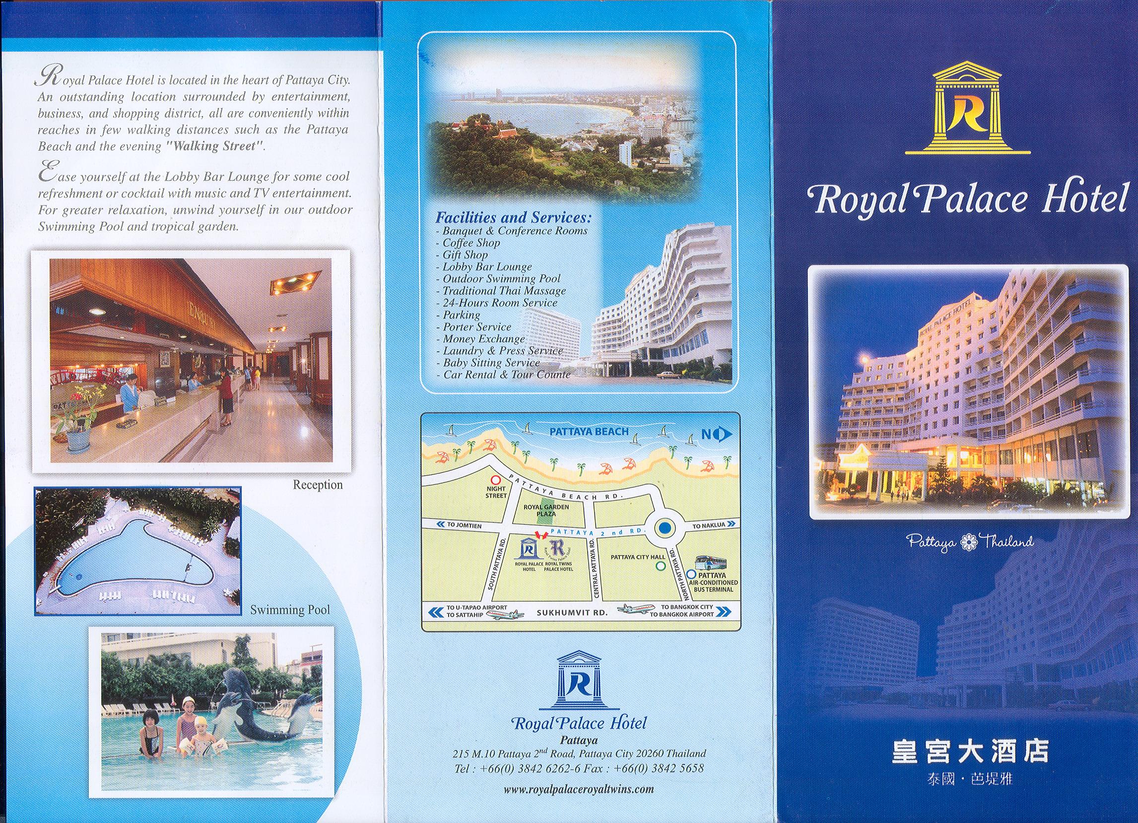 in tờ rơi royal hotel