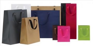Nhận biết một số loại túi giấy theo tính chất sử dụng.