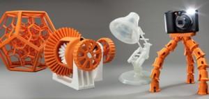 Máy in 3D có thể in cả gỗ, đá vôi và kim loại