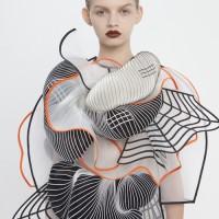 Thời trang bằng chất liệu Polime trên máy in 3D