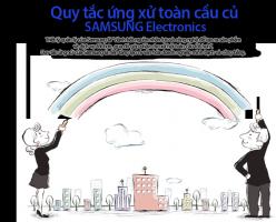 5 Quy tắc ứng sử toàn cầu của tập đoàn Sam Sung