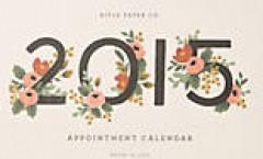 15 mẫu in lịch hoa lá năm 2015