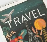 Bộ lịch chủ đề Travel (mầu nước)