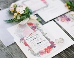 Thiệp cưới phong cách châu âu