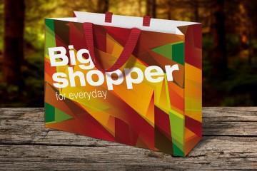 Thiết kế và in túi giấy lớn ngoại cỡ
